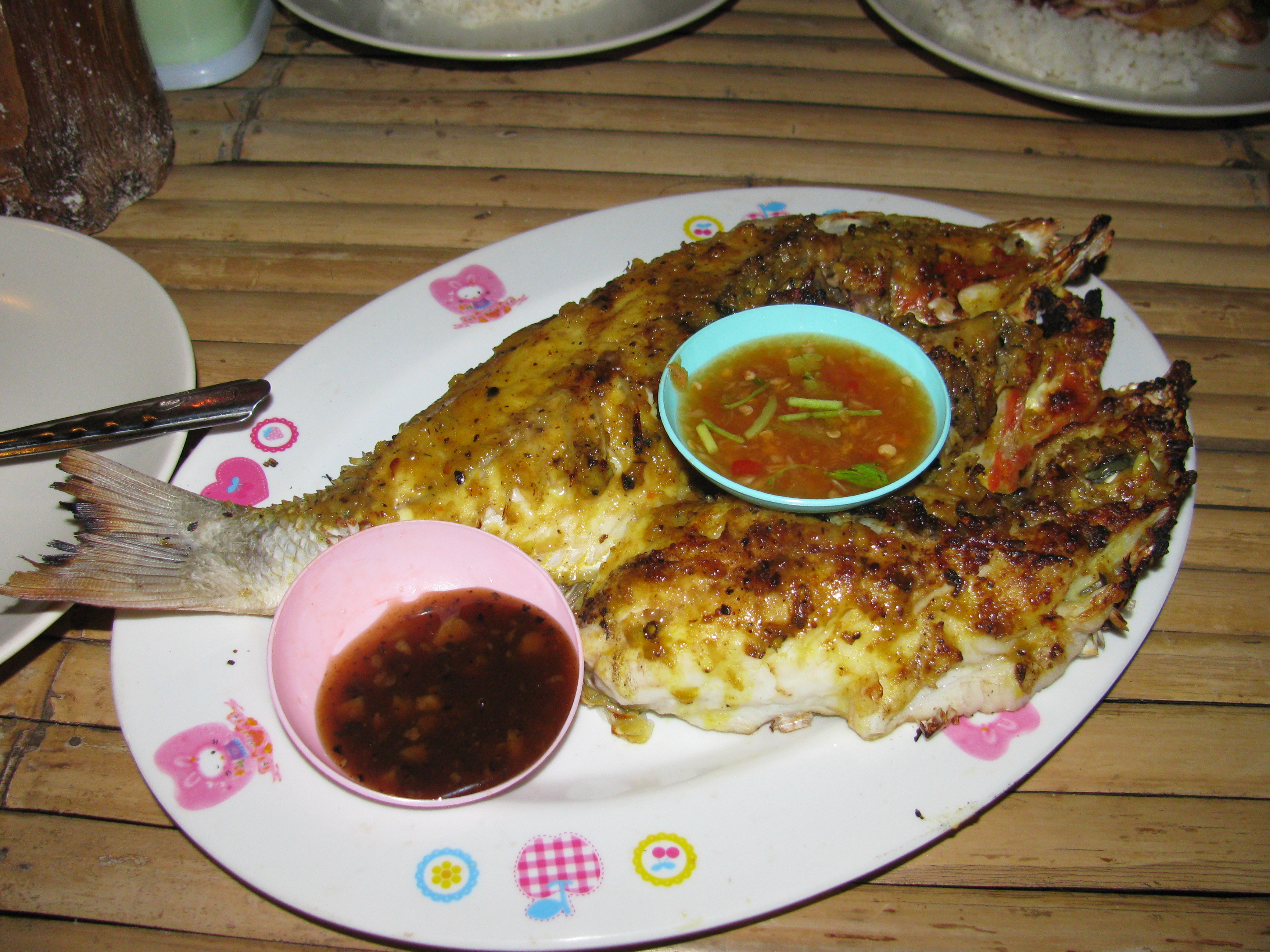 Eat that up it s good for you on the banana pancake trail for Andaman healthy thai cuisine